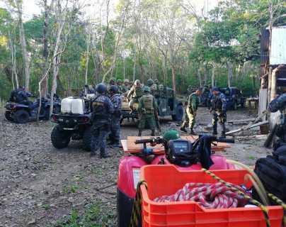 Esto es lo que implica la vigilancia de las zonas selváticas de Petén para evitar saqueo de madera