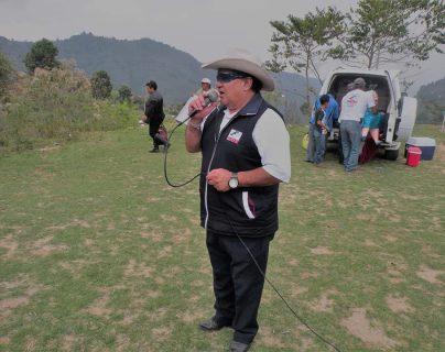 Óscar de la Cruz. (Foto Prensa Libre: Facebook)