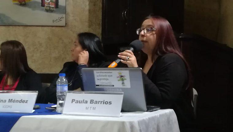 Paula Barrios, directora de la Organización Mujeres Transformando el Mundo (MTM). (Foto Prensa Libre: Cortesía)
