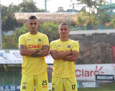 Jorge Aparicio y Marvin Ceballos han logrado brillar con el bicampeón Guastatoya (Foto Prensa Libre: Edwin Fajardo)