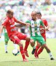 Pablo Mingorance deja las filas de Antigua GFC. (Foto Prensa Libre: Francisco Sánchez)