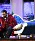 """El tenor guatemalteco Mario Chang interpreta a Alfredo Germont en """"La Traviata"""". (Foto Prensa Libre: Pablo Juárez Andrino)"""