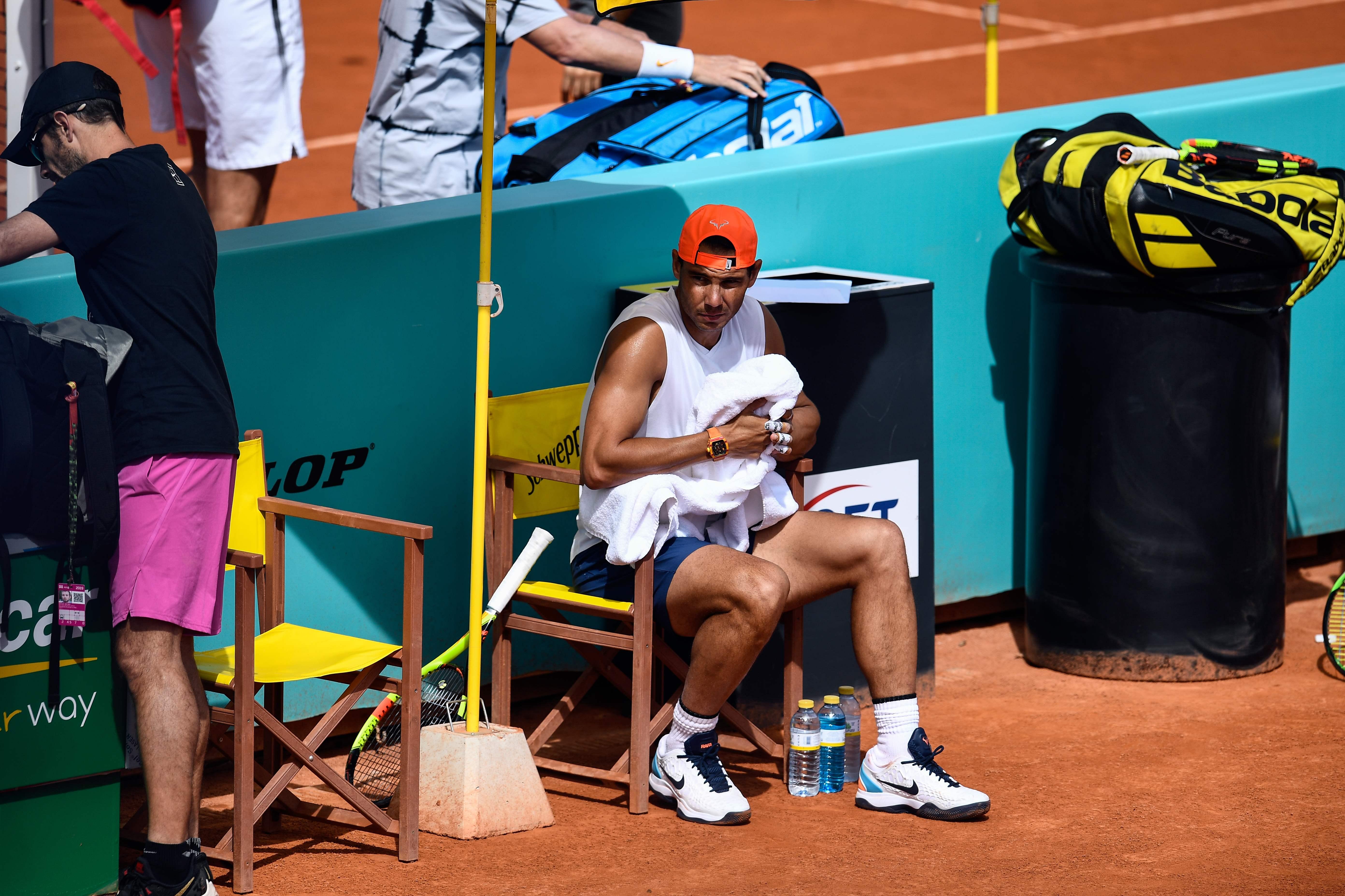 El tenista español Rafael Nadal (Foto Prensa Libre: AFP)