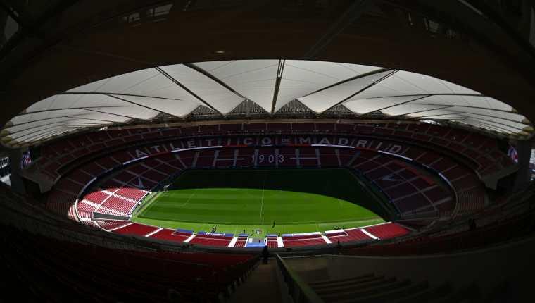 El Wanda Metropolitano será el escenario de la gran final de la Champions League, el próximo sábado. (Foto Prensa Libre: AFP)