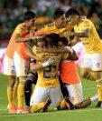 Los jugadores de Tigres esperan hacer un buen torneo. (Foto Prensa Libre: AFP)