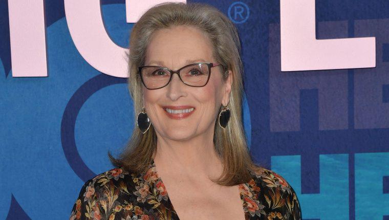 """La actriz estadounidense Meryl Streep durante el estreno de la segunda temporada de """"Big Little Lies"""" en Nueva York, EE. UU. (Foto Prensa Libre: AFP)"""