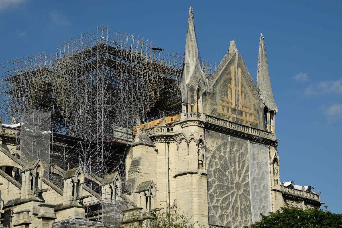 La Catedral de Notre Dame de París celebrará su primera misa tras el incendio que casi la desaparece