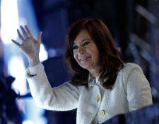 El anuncio de Cristina Fernández causó sorpresa y rechazo. (Foto Prensa Libre: AFP)