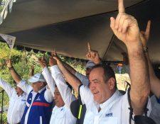 Alejandro Giammattei, presdienciable del partido Vamos. (Foto Prensa Libre: AlbertoCardona)