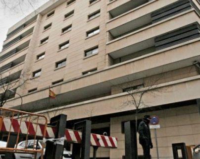 Edificio de la Audiencia Nacional de España. (Foto Prensa Libre: EFE)