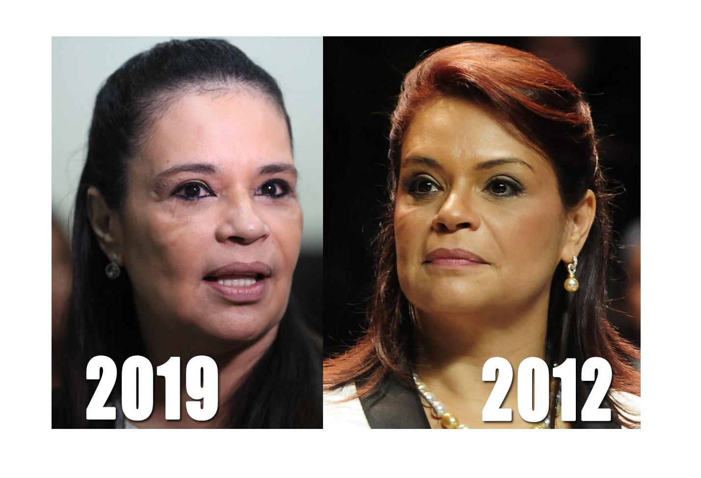 Cuatro años de procesos contra la primer vicepresidenta de Guatemala