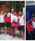Los jugadores de Malacateco ya están en Antigua. (Foto Prensa Libre: Cortesía Amir Cifuentes)
