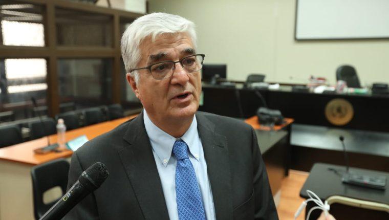 Carlos Vielmann, exministro de Gobernación implicado en el caso Pavón. (Foto Prensa Libre: Esbin García)