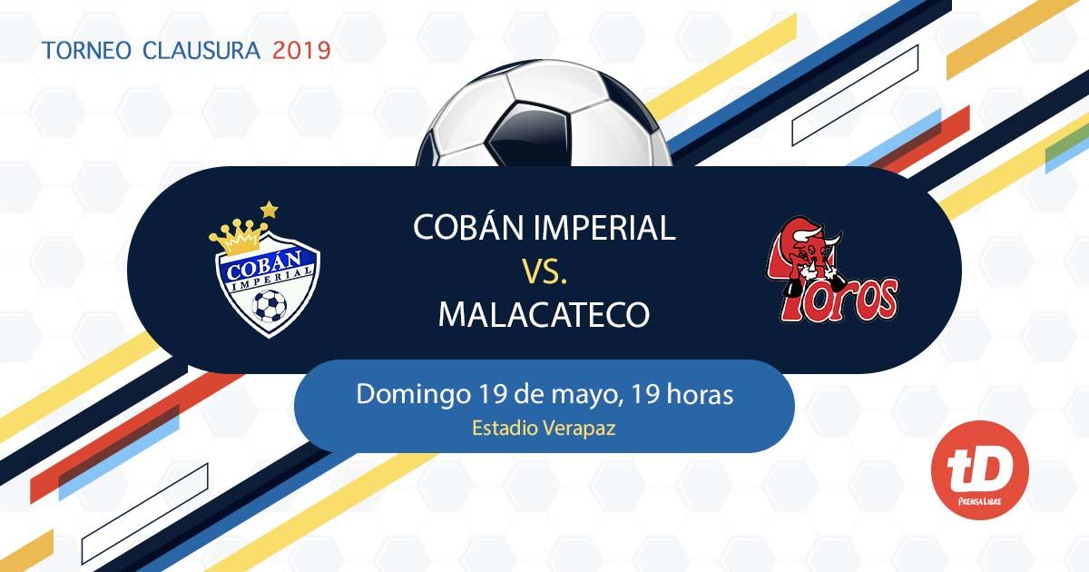 EN DIRECTO | Cobán Imperial vs Malacateco