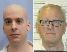Michael Samra (L) y Donnie Edward Johnson fueron ejecutados en Alabama y Tenesí. (Foto Prensa Libre: AFP)