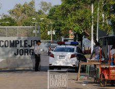 Ingreso a la cárcel La Modelo, Nicaragua, donde ocurrió el enfrentamento. (Foto tomada de El Nuevo Diario)