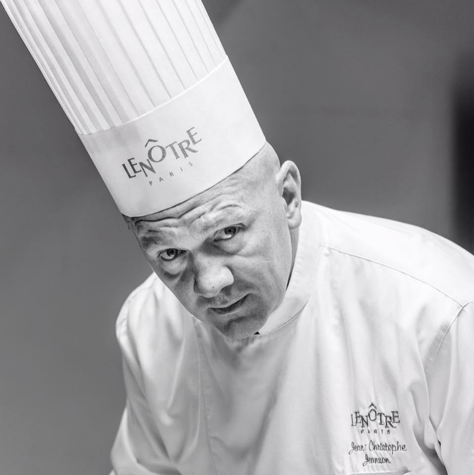 Jean-Christophe Jeanson es chef pastelero de la casa Lenôtre. Foto Prensa Libre, tomada de Facebook.