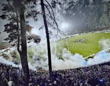 El estadio Verapaz lució sus mejores galas en el juego de vuelta de las semifinales. (Foto Prensa Libre: cortesía Jaime García)