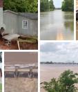 Estas son algunas de las impactantes imágenes de las inundaciones en el estado de Oklahoma en Estados Unidos. (Foto Prensa Libre: Redes)
