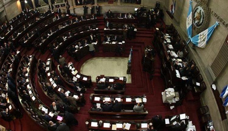 Pleno del Congreso. (Foto Prensa Libre: Hemeroteca PL)