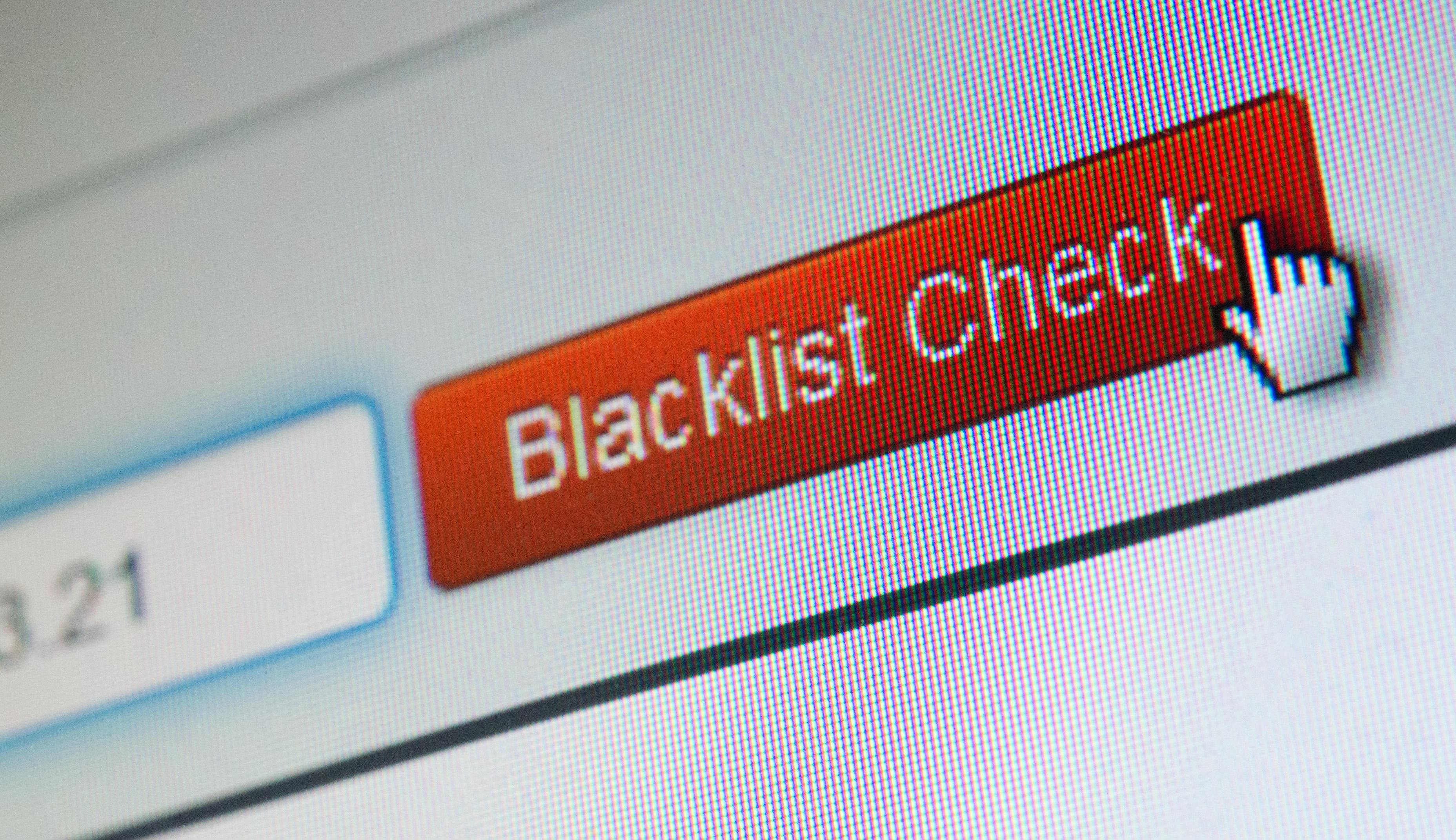 Una blacklist o lista negra puede ser usada para recolectar todas las direcciones que uno quiere bloquear. (Foto Prensa Libre: Andrea Warnecke/dpa-tmn).