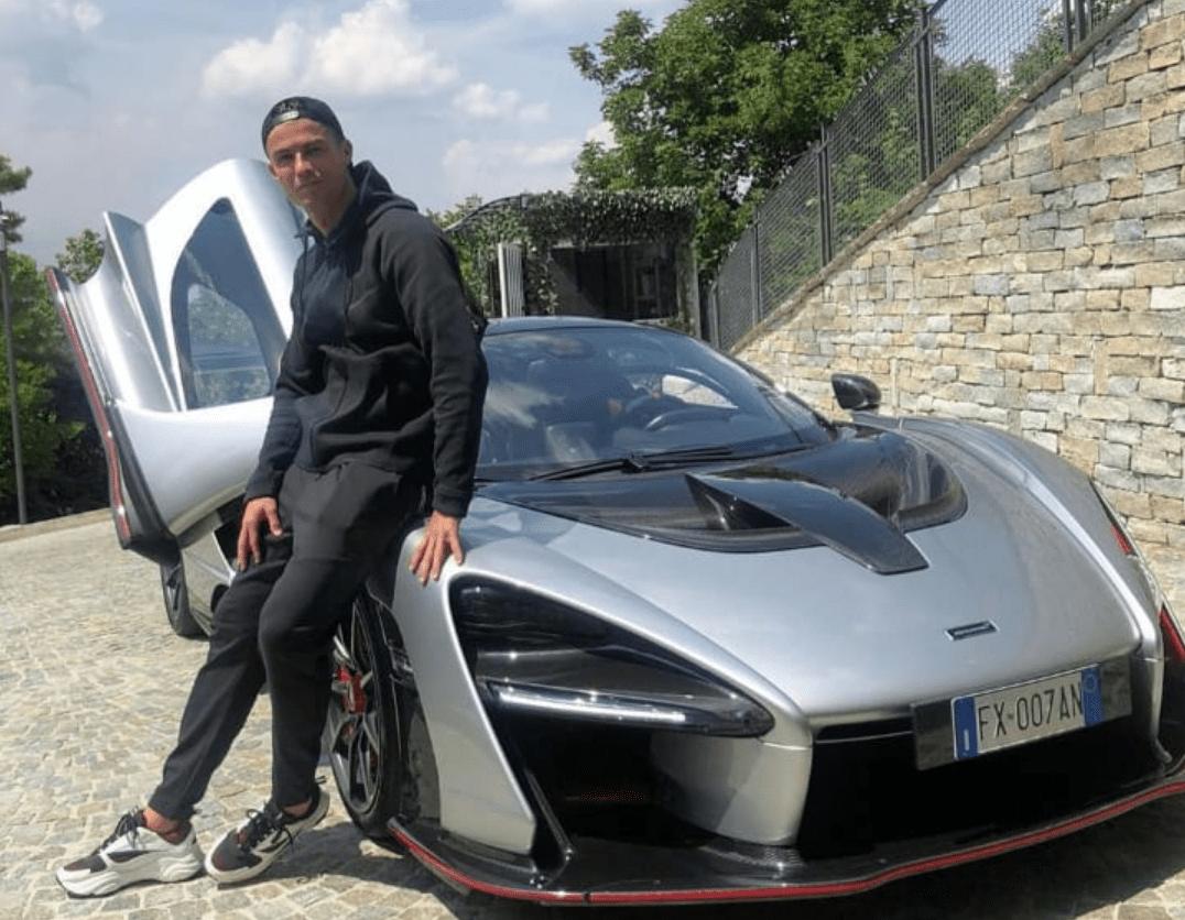 Cristiano Ronaldo y su auto de lujo McLaren Senna de casi un millón de euros