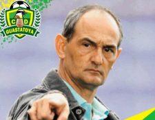 Daniel Alberto Casas Lago, el nuevo director técnico de Guastatoya. (Foto Prensa Libre: @CD_Guastatoya).