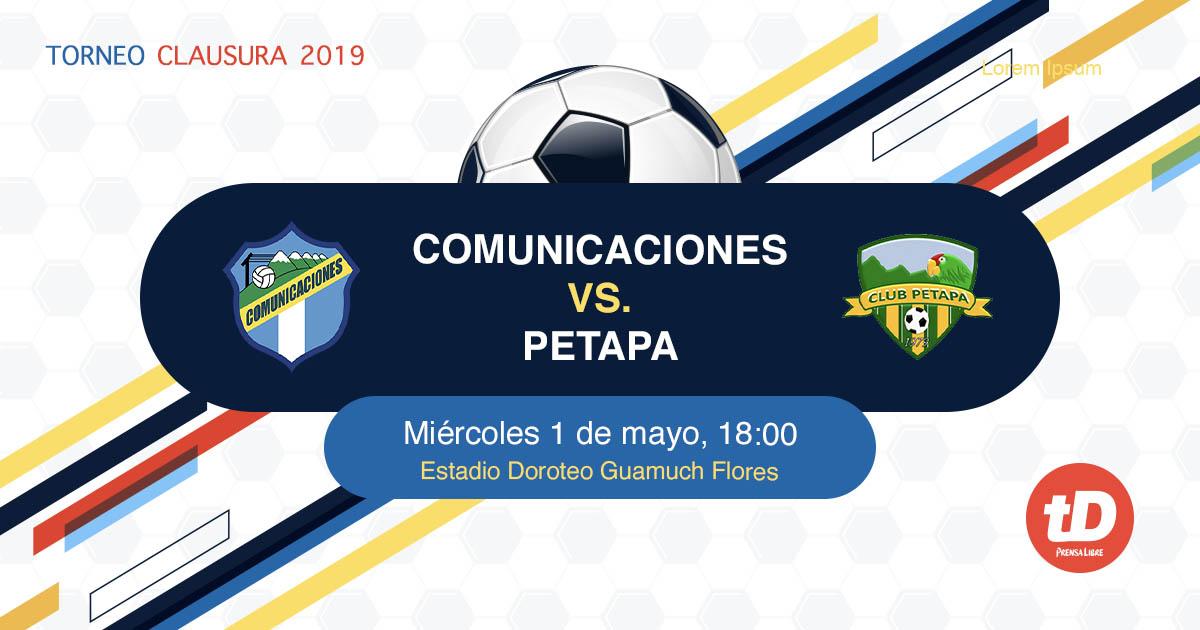 EN DIRECTO | Comunicaciones vs Petapa