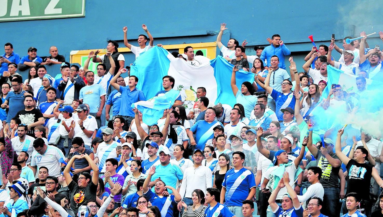 La Selección de Guatemala volverá a la acción, en la Liga de Naciones. (Foto Prensa Libre: Hemeroteca PL)