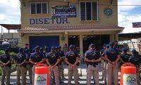 La Policía Nacional Civil en Quetzaltenango está en alerta máxima debido a una amenaza de ataques contra subestaciones. (Foto Prensa Libre: Hemeroteca PL)