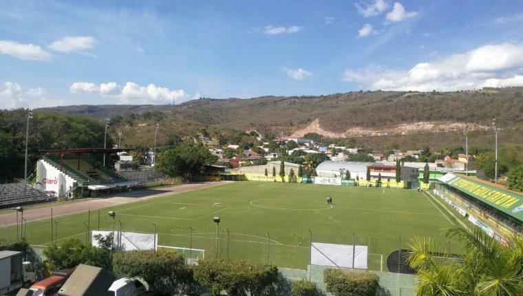Una panorámica del estadio David Cordón Hichos. (Foto Prensa Libre: Hemeroteca PL)