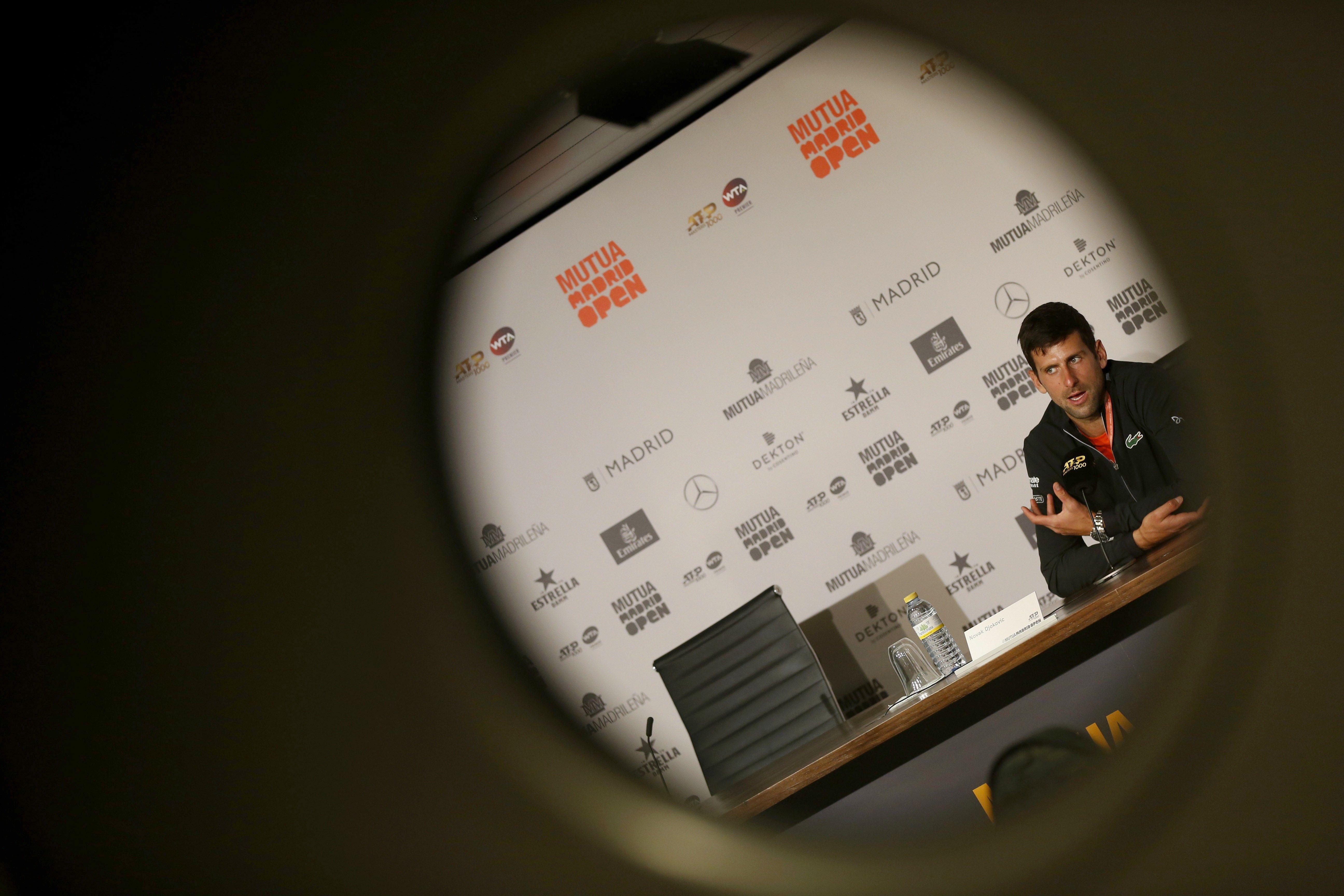 El tenista serbio Novak Djokovic, y su influencia en el mundo del tenis. (Foto Prensa Libre: EFE)