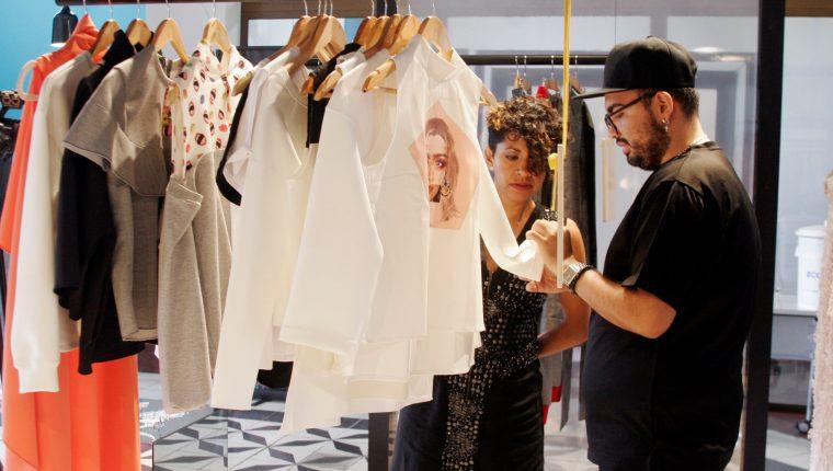 La moda guatemalteca será impulsada con este proyecto (Foto Prensa Libre: María René Barrientos).