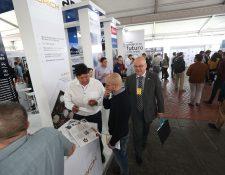 El Encuentro Internacional de Franquicias 2019 presenta diversas opciones de negocios. (Foto, Prensa Libre: Carlos Hernández).