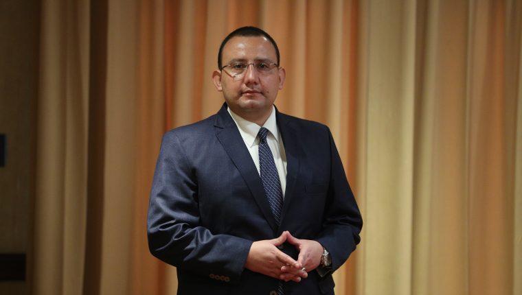 Jahir Dabroy, consultor de Centrarse en tema de Derechos Humanos. (Foto, Prensa Libre: Carlos Hernández).