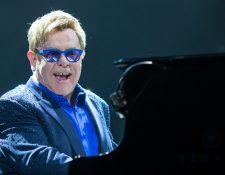 El cantante británico Elton John nació el 25 de marzo de 1947. (Foto Prensa Libre: Hemeroteca PL).