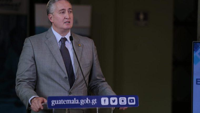 Enrique Degenhart, ministro de Gobernación (Foto Prensa Libre: Mingob)