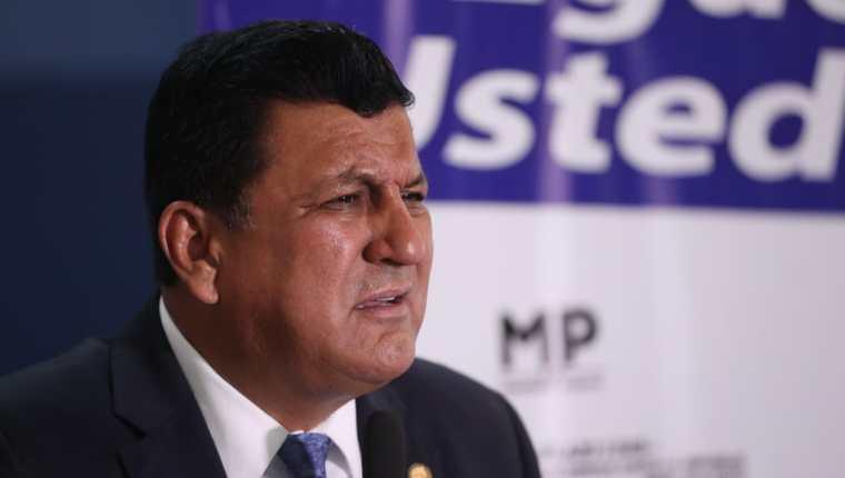 El diputado Estuardo Galdámez está señalado por un caso presentado por el Ministerio Público y la Cicig. (Foto Prensa Libre: Hemeroteca PL)