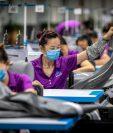 La desaceleración de las exportaciones chinas en abril, fue la más pronunciada que lo previsto por los analistas. (Foto Prensa Libre: EFE)