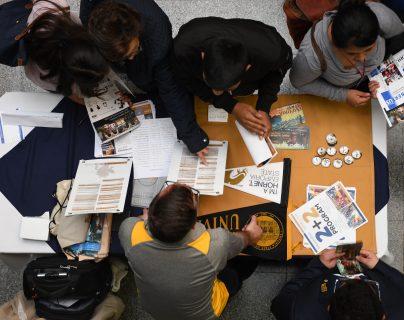 Los interesados podrán obtener información de la carrera universitaria de su interés. (Foto Prensa Libre: Cortesía EducationUSA).