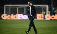 "(FILES) In this file photo taken on December 26, 2018 Juventus' Italian coach Massimiliano Allegri leaves the pitch at the end of the Italian Serie A football Match Atalanta Bergamo vs Juventus at the Atleti Azzurri d'Italia stadium in Bergamo. - Massimiliano Allegri will not coach Italian Serie A football team Juventus next season, the club said on May 17, 2019. ""Massimiliano Allegri will not be on the Juventus bench for the 2019/2020 season,"" the club said in a statement. Juventus have already wrapped up their eighth consecutive title, and Allegri's fifth in as many years since replacing Antonio Conte in 2014. (Photo by Marco BERTORELLO / AFP)"