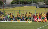 Guastatoya ganó 1-0 y llega con mínima ventaja al duelo de vuelta, del sábado. (Foto Prensa Libre: Luis López)