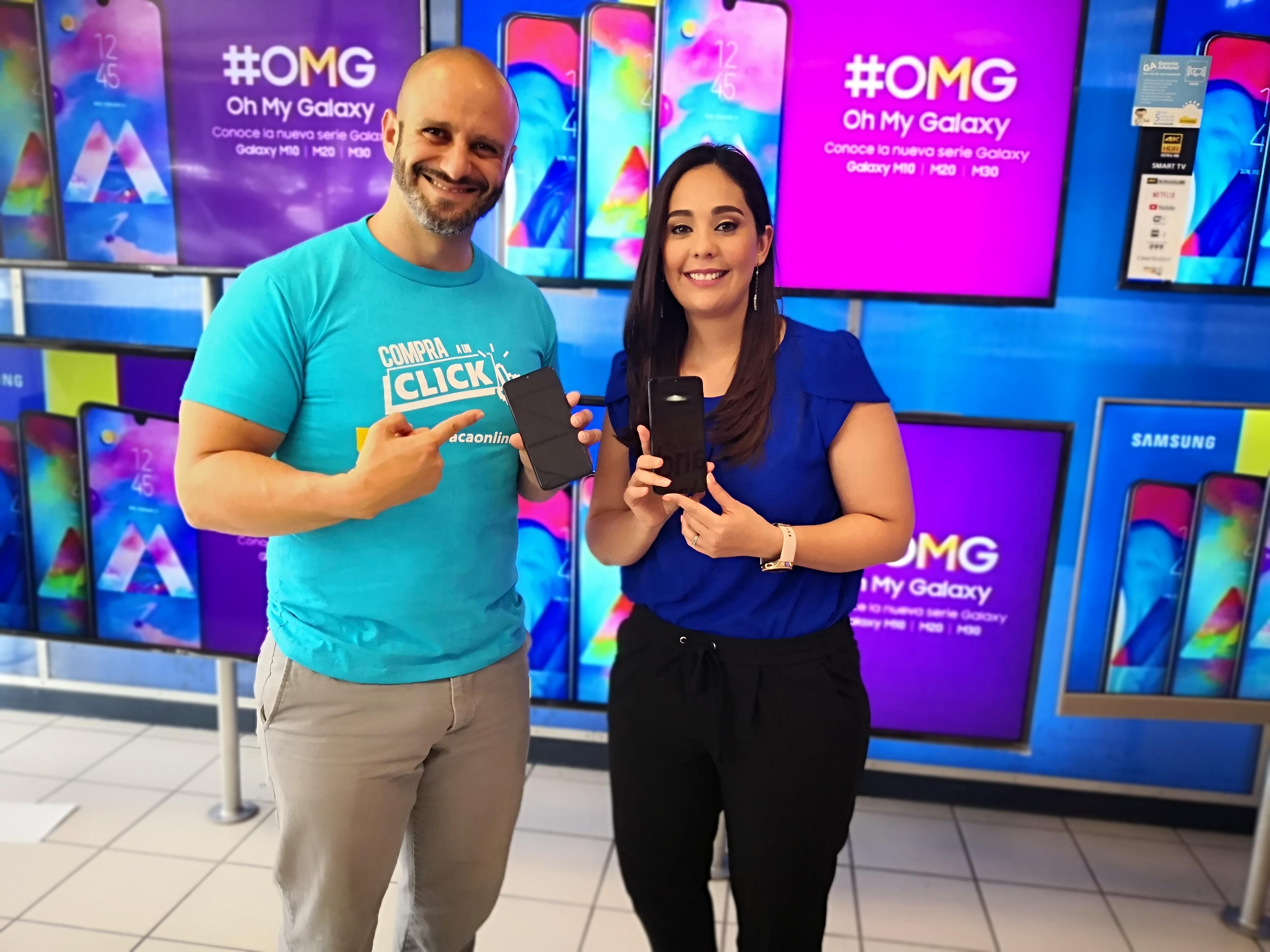 La nueva Serie del Galaxy M estará disponible solo para venta en línea por medio de la web de la Curacao