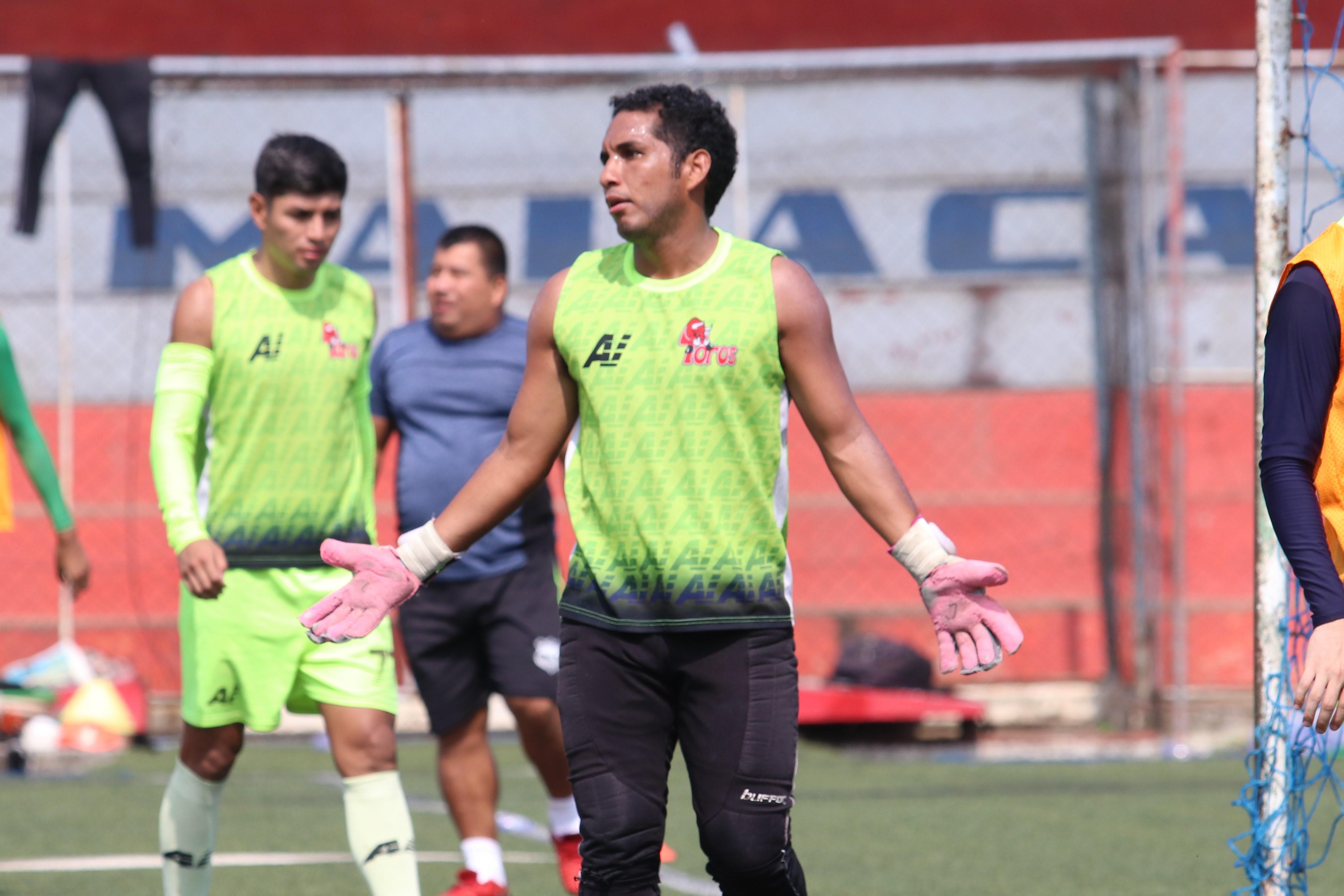 Juan Valenzuela espera tomar revancha de la eliminación del torneo pasado. (Foto Prensa Libre: Raúl Juárez)