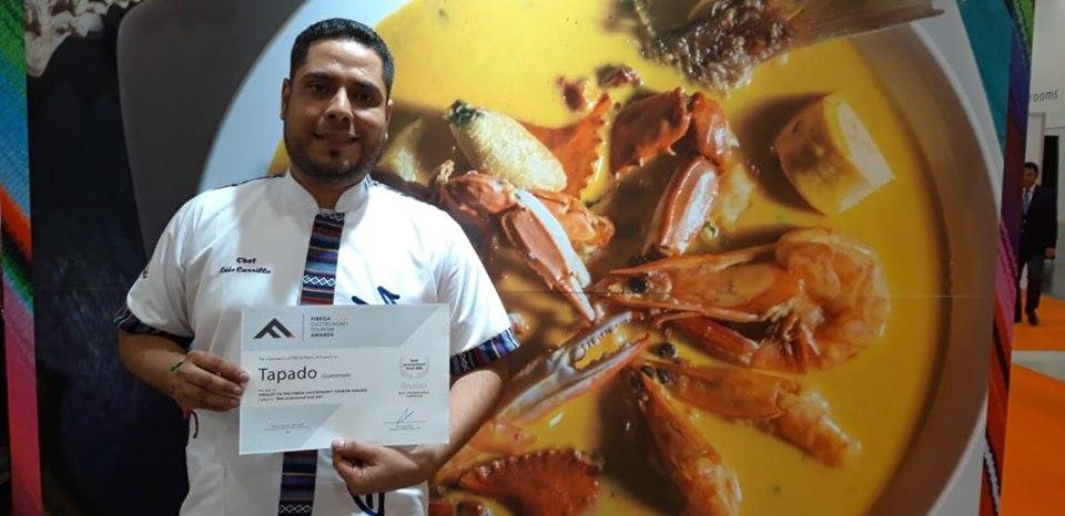 El chef Luis Alberto Carrillo Maldonado colocó en alto el nombre de Izabal. Foto Prensa Libre: Facebook Inguat