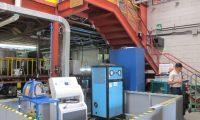 Empresa Fogel de refrigeraci—n comercial es reconocida como carbono neutral.  En la imagen, m‡quinas de trabajo de la empresa Fogel.   Fotograf'a: Mar'a ReneŽ Barrientos Gaytan