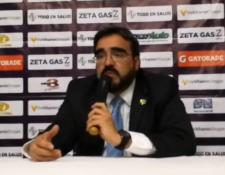 Juan García, presidente crema, dice que se necesita tener varios escenarios con el futbol guatemalteco. (Foto Prensa Libre: Hemeroteca PL)