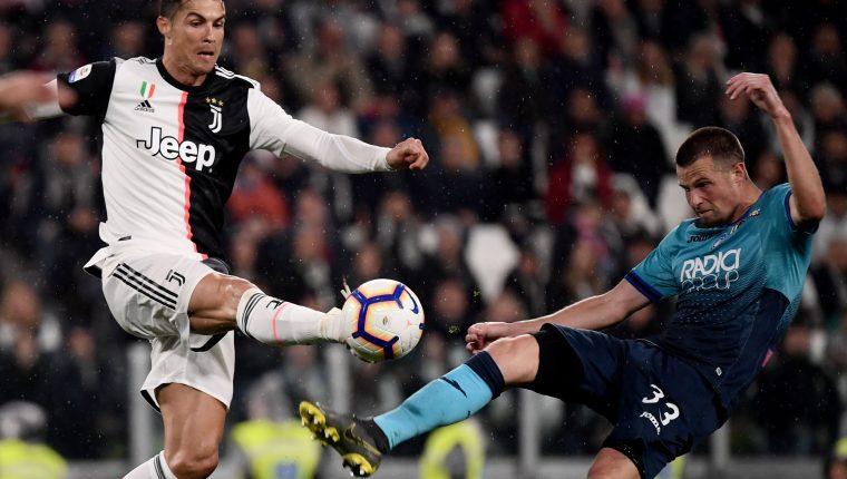 El Atalanta empató contra la Juventus y está en la lucha por un lugar en la Liga de Campeones. (Foto Prensa Libre: EFE)