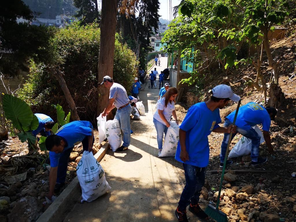 Más de medio millón de voluntarios participaron en la campaña de limpieza a nivel nacional.