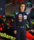 Mateo Llarena, es uno de los pilotos novatos, que ha demostrado su talento en el automovilismo. (Foto Prensa Libre: Mateo Llarena)